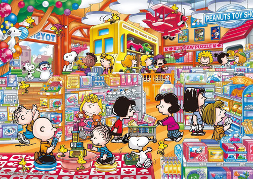 Apollo-sha Jigsaw Puzzle 41-741 Peanuts Snoopy Toy Shop (108 Pieces)