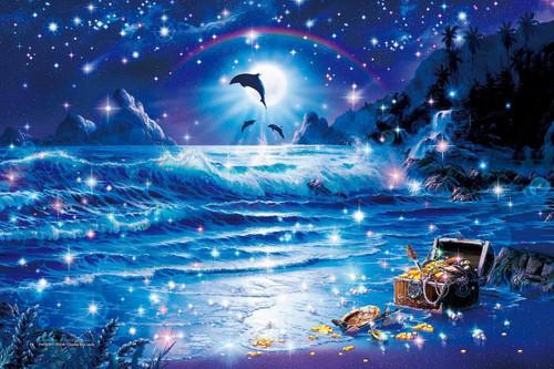 Epoch Jigsaw Puzzle 13-019 Lassen Fantastic Ocean (1000 Pieces)
