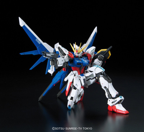 Bandai RG-23 Gundam GAT-X105B/FP Build Strike Gundam Full Package 1/144 Scale Kit