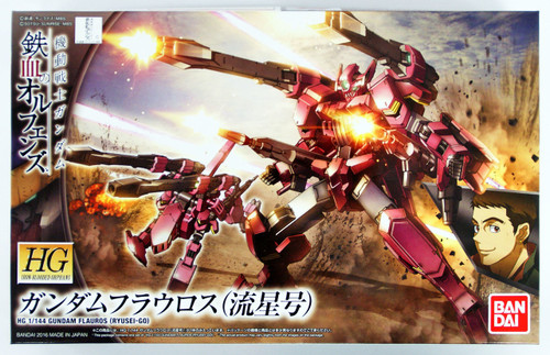 Bandai Iron-Blooded Orphans 028 Gundam GUNDAM FLAUROS (RYUSEI-GO) 1/144 scale kit
