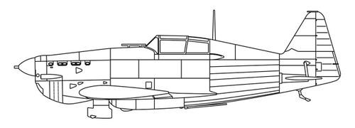 Hasegawa 64743 Shuumatsu no Izetta Exe Morane (Morane-Saulnier MS406ES) w/ Figure 1/72