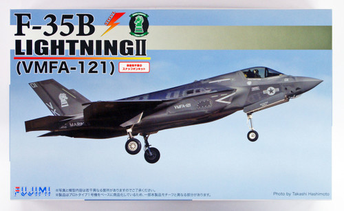 Fujimi BSK-SP 722924 F-35B Lightning II (VMFA-121) 1/72 scale kit