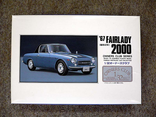 Arii Owners Club 1/32 01 1967 Fairlady 2000 1/32 Scale Kit (Microace)