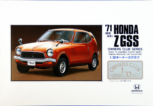 Arii Owners Club 1/32 02 1971 Honda Z GSS 1/32 Scale Kit (Microace)
