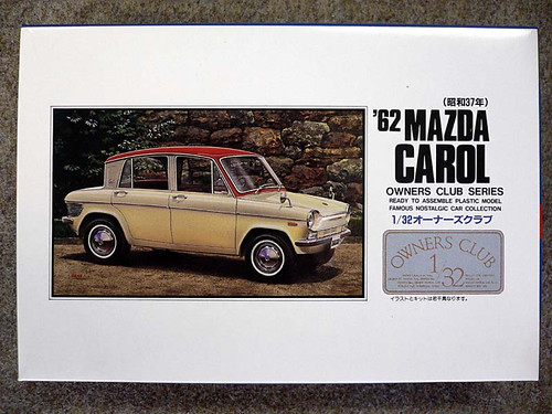 Arii Owners Club 1/32 08 1962 Mazda Carol 1/32 Scale Kit (Microace)
