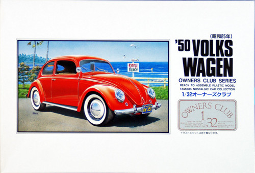 Arii Owners Club 1/32 13 1950 Volks Wagen 1/32 Scale Kit (Microace)