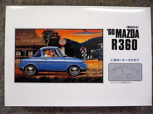 Arii Owners Club 1/32 15 1960 MAZDA R360 1/32 Scale Kit (Microace)