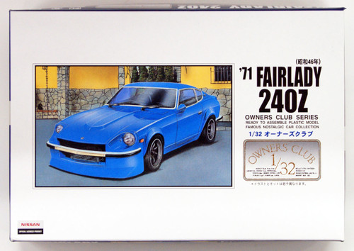 Arii Owners Club 1/32 33 1971 Fairlady 240Z 1/32 Scale Kit (Microace)