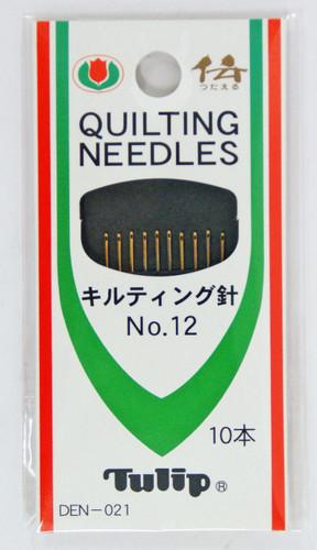 Tulip DEN-021 Quilting Needles No.12 (10 pcs / 0.53 x 24.4mm)