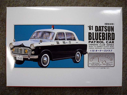 Arii Owners Club 1/32 55 1961 Bluebird Patrol 1/32 Scale Kit (Microace)
