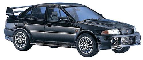 Hasegawa CD20 Mitsubishi Lancer GSR Evolution VI 1/24 Scale Kit