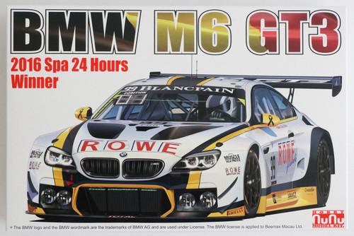 Platz PN24001 BMW M6 GT3 2016 24 Hours of Spa Winner 1/24 Scale Kit