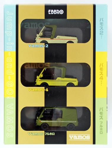 Ebbro 90001 Vamos Honda Set 1/43 scale