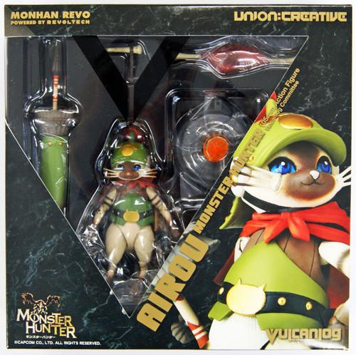Kaiyodo (Union Creative) Vulcanlog 005 Monster Hunter Otomo Airou Figure
