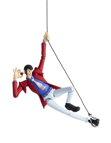 Kaiyodo Legacy of Revoltech LR-025 Lupin The Third Figure