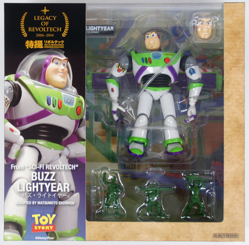 Kaiyodo Legacy of Revoltech LR-046 Buzz Lightyear Figure