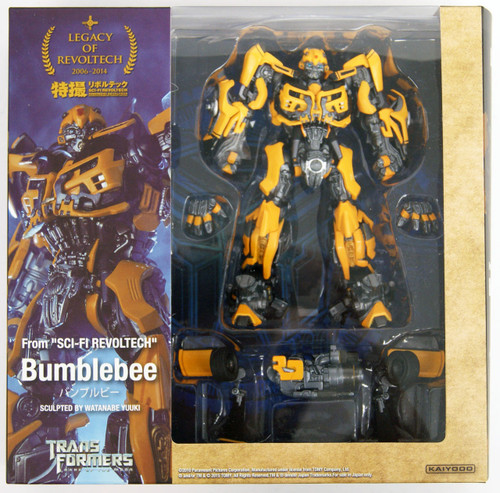 Kaiyodo Legacy of Revoltech LR-050 Transformers Bumblebee Figure