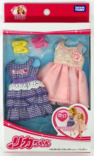 Takara Tomy Licca Doll Summer Dress Set  doll not included  (837091)