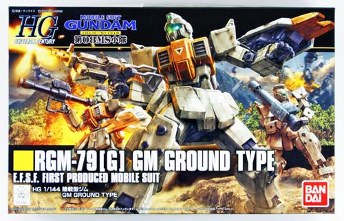 Bandai HGUC 202 GUNDAM GM GROUND TYPE 1/144 scale kit