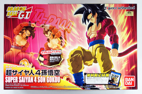 Bandai Figure-Rise Standard 144977 SUPER SAIYAN 4 SON GOKU Plastic Model Kit