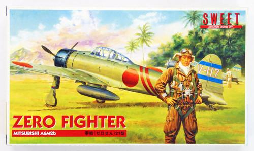 Sweet Aviation 07 Zero Fighter 21 Type Mitsubishi A6M2B 1/144 Scale Kit