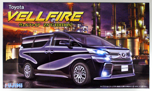 "Fujimi 066004 Vellfire ZA ""G Edition"" 1/24 scale kit"