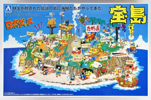 Aoshima 42922 Robodachi No.3 Takara Jima (Treasure Island) Non-scale kit