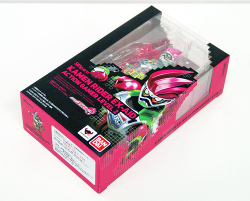 Bandai 128816 S.H. Figuarts Kamen Masked Rider Ex-Aid Action Gamer Level 2 non-scale Figure