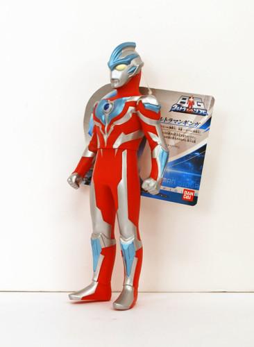 "Bandai Ultra Big Series Ultraman Ginga 9.0"" Figure"