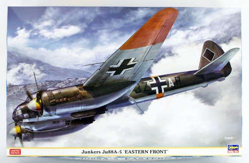 "Hasegawa 07446 Junkers Ju88A-5 ""Easterb Front"" 1/48 scale kit"
