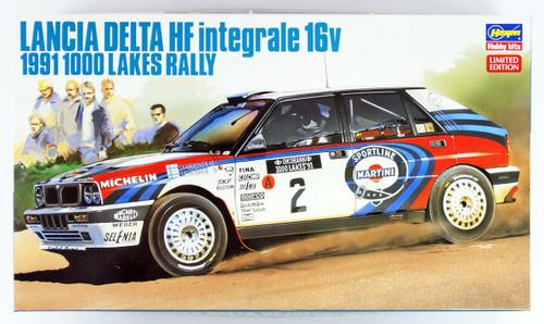 Hasegawa 20289 Lancia Delta HF Integrale 16V 1991 1000 Lakes Rally 1/24 scale kit