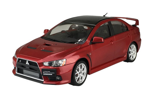 Aoshima 50897 Lancer Evolution X Final Ed. '15 Red Metallic (Pre-painted) 1/24
