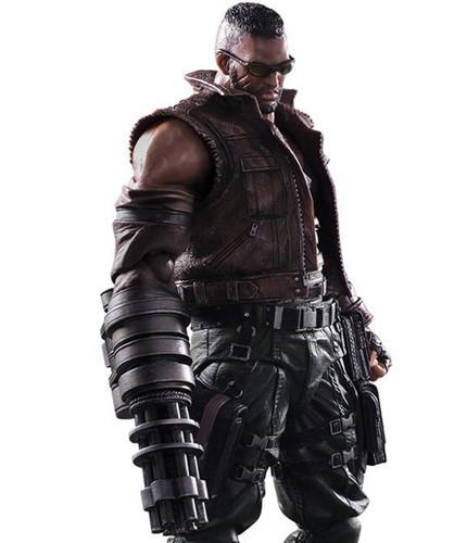 "Square Enix 323086 Final Fantasy VII Remake Play Arts KAI No. 2 ""Barret Wallace"" Action Figure"