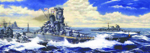 Fujimi TOKU-2 IJN BattleShip Yamato Leyte Gulf 1/700 Scale Kit