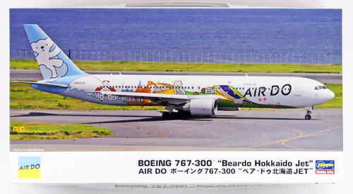 "Hasegawa 10820 Air Do Boeing 767-300 ""Bear Do Hokkaido Jet"" 1/200 scale kit"