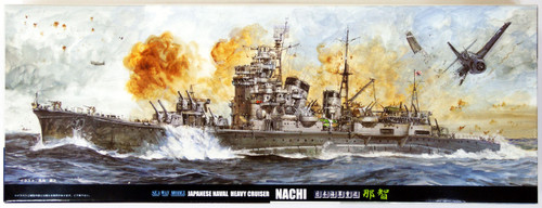 Fujimi TOKU-8 IJN Heavy Cruiser Nachi 1/700 Scale Kit