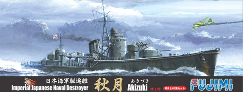 Fujimi TOKU-32 IJN Destroyer Akizuki 1/700 Scale Kit
