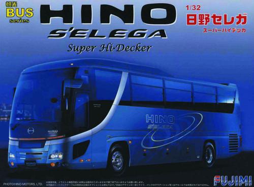 Fujimi BUS01 Hino Selega Super Hi-Decker 1/32 Scale Kit