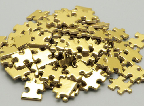 Beverly Jigsaw Puzzle M108-205 Gold Hell (108 S-Pieces)