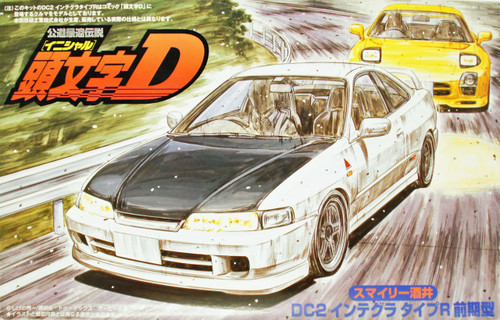 Fujimi ISD-15 Initial D Integra Type R DC2 1/24 Scale Kit