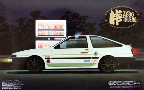 Fujimi TOHGE-03 Toyota AE86 Trueno Drift King 1/24 Scale Kit