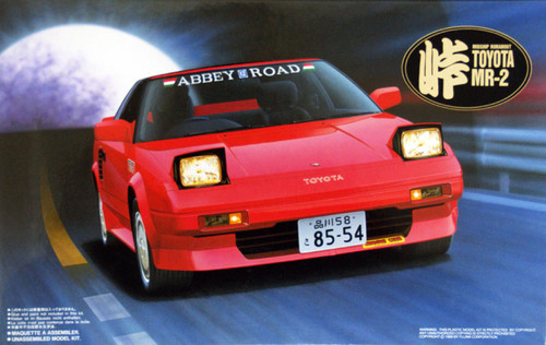 Fujimi TOHGE-04 Toyota MR-2 AW11 Drift King 1/24 Scale Kit
