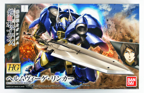 Bandai Iron-Blooded Orphans 031 Gundam HELMWIGE REINCAR 1/144 scale kit