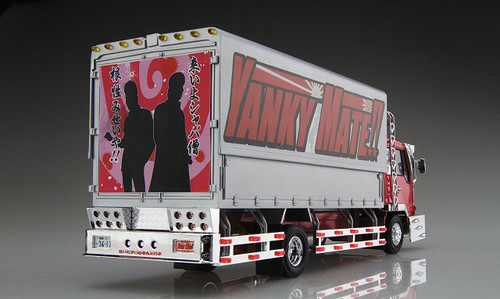 Aoshima 52839 Japanese Decoration Truck Yanky Mate 1/32 Scale kit