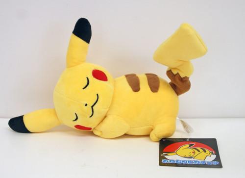 Pokemon Center Original Plush Doll Sleeping Pikachu 203171