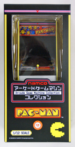 FREEing Namco Arcade Game Machine Collection Pac-Man 1/12 Scale Figure