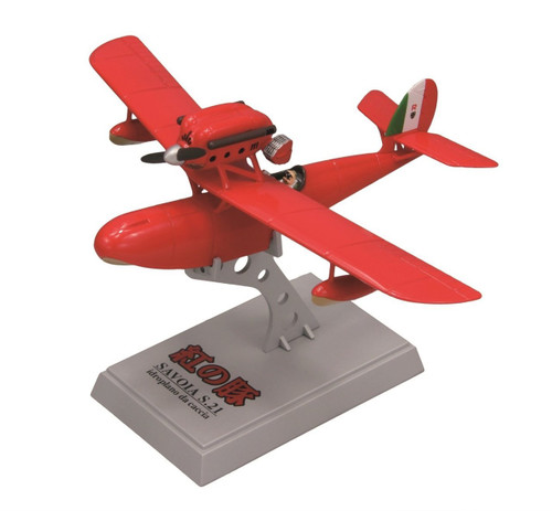 Fine Molds 62501 Savoia S.21 Seaplane PORCO ROSSO 1/72 Scale Finished Model