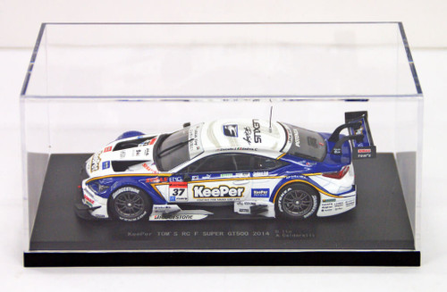 Ebbro 45065 KeePer TOM'S RC F SUPER GT500 2014 No.37 White 1/43 scale