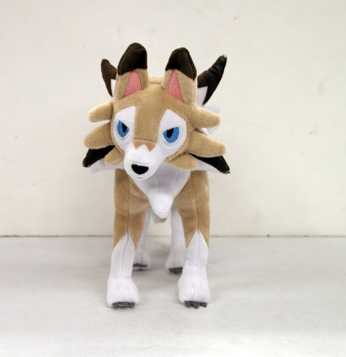 Pokemon Center Original Plush Doll Lycanroc (Lugarugan) Midday Form