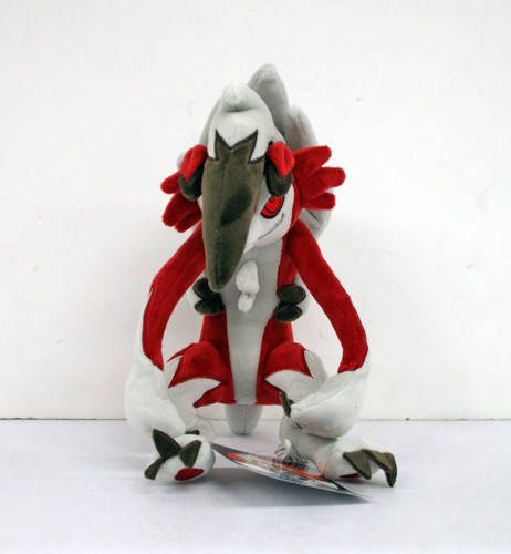 Pokemon Center Original Plush Doll Lycanroc (Lugarugan) Midnight Form